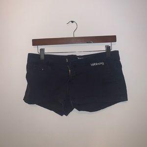 Billabong Black Jean shorts size 1